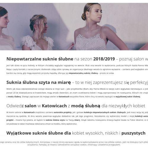 Tanie suknie ślubne - Katowice