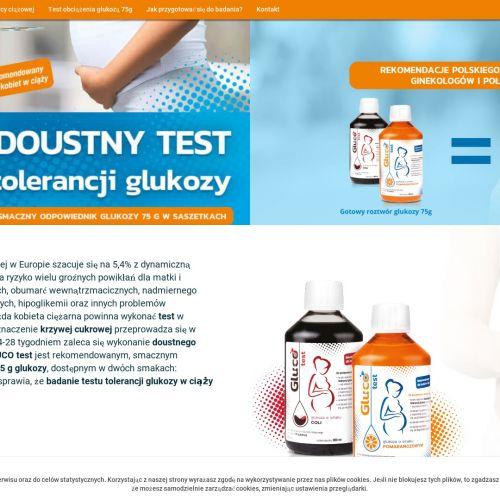 Doustny Gluco Test obciążenia glukozą