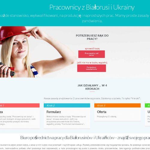 Biuro pośrednictwa pracy dla Ukraińców