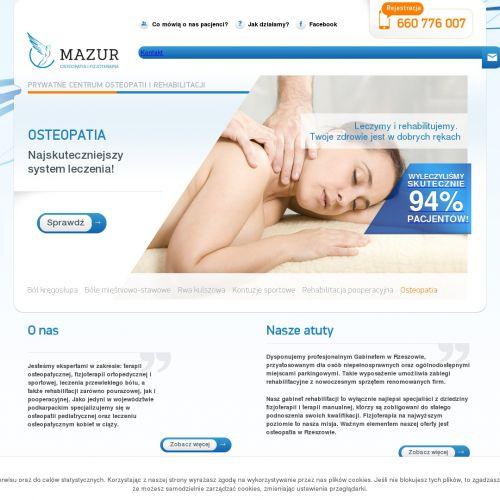 Gabinet osteopatii w Rzeszowie