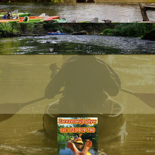 Spływ kajakowe - Roztocze