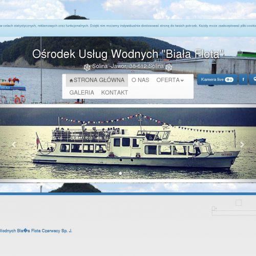 Wypożyczalnia łodzi - Solina