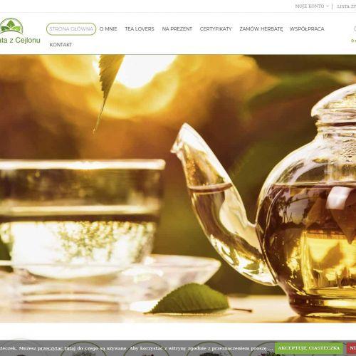 Biała herbata z Indii