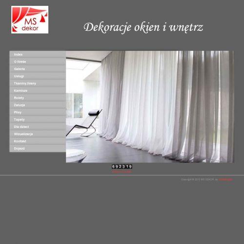 Firany na wymiar i dekoracje okien