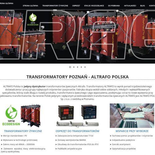 Sklep z transformatorami sieciowymi