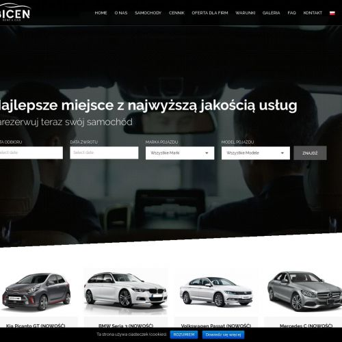 Wypożyczalnia samochodów w Warszawie