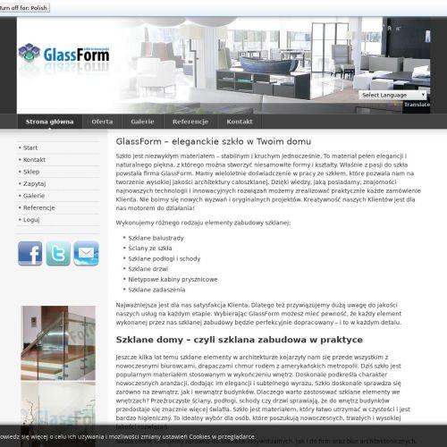 Zabudowy całoszklane dla Klientów z Katowic