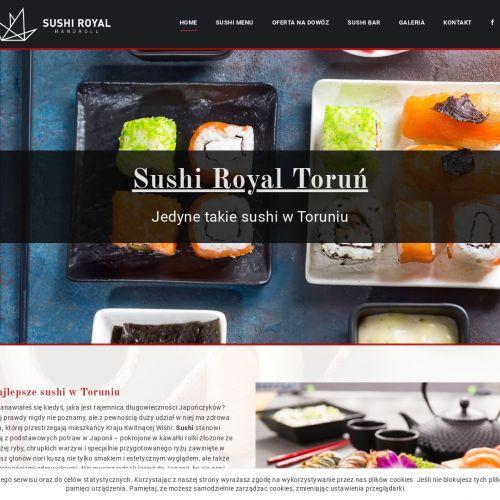 Sushi na dowóz w Toruniu