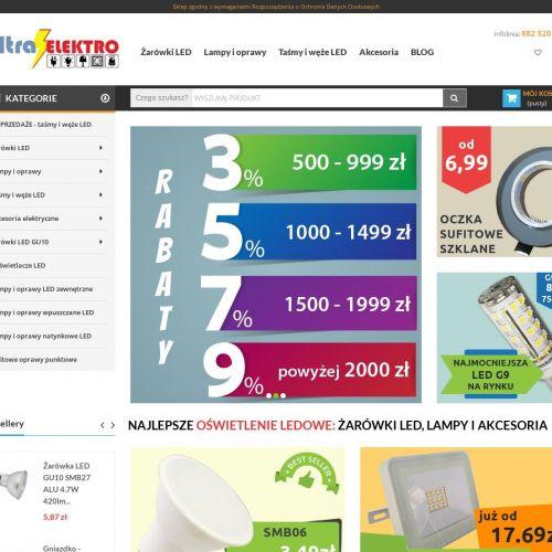 Materiały i akcesoria instalacyjne LED