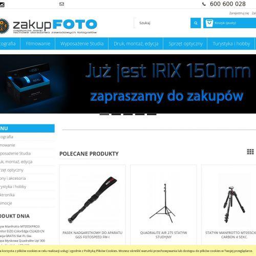 Plecak Gitzo i monitor graficzny