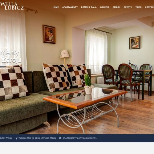 Tani apartament w Krynicy Zdroju