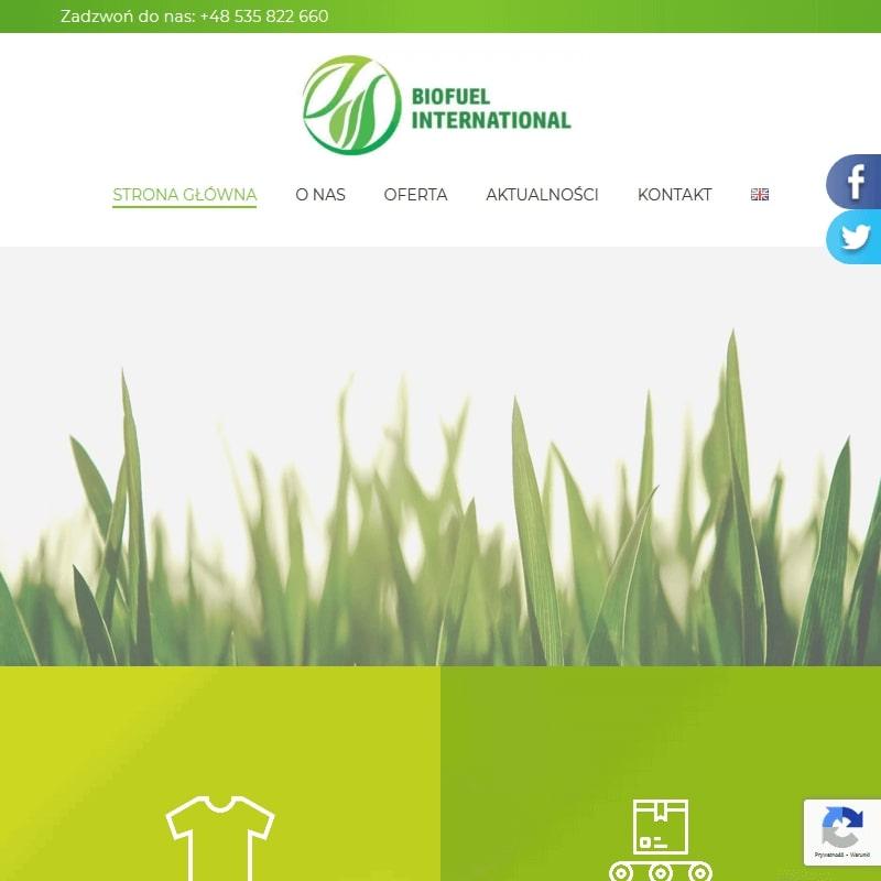 Biopaliwo z tekstyliów