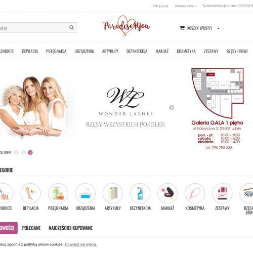 Hurtownia produktów kosmetycznych