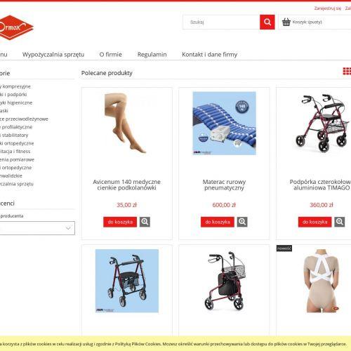 Sklep online z akcesoriami ortopedycznym