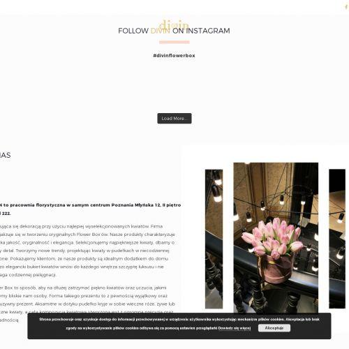 Eleganckie flower boxy