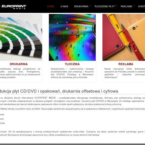 Produkcja płyt CD dla Klientów z Warszawy