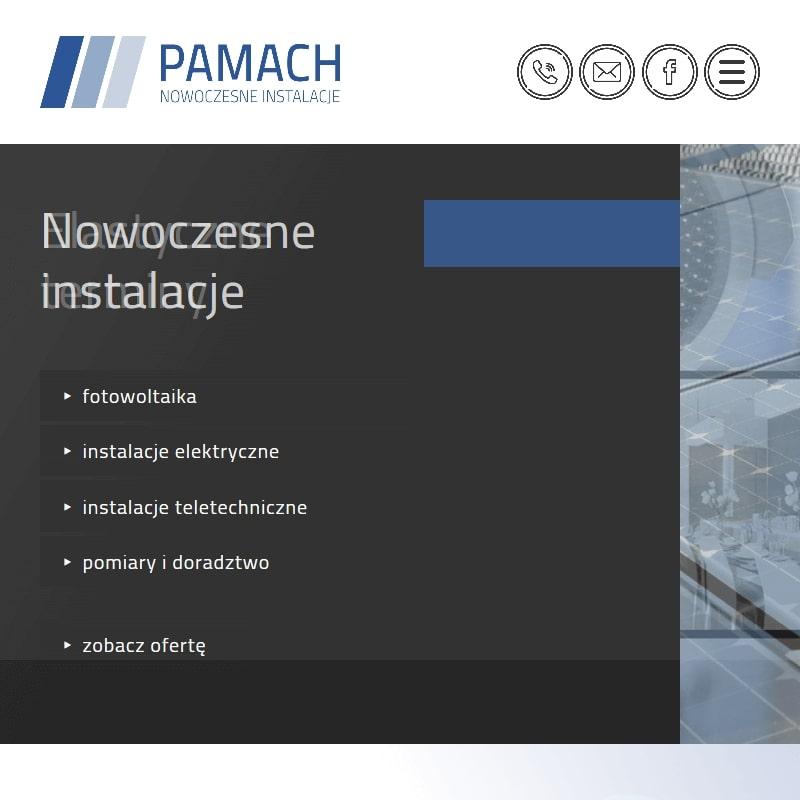 Panele fotowoltaiczne oraz sieci teletechniczne