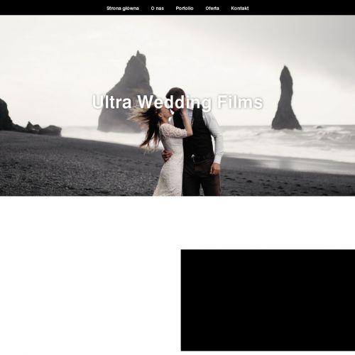 Wideofilmowanie ślubu i wesela