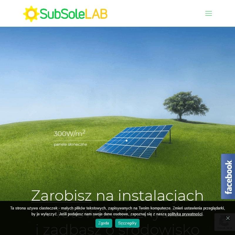 Panele słoneczne oraz instalacje fotowoltaiczne