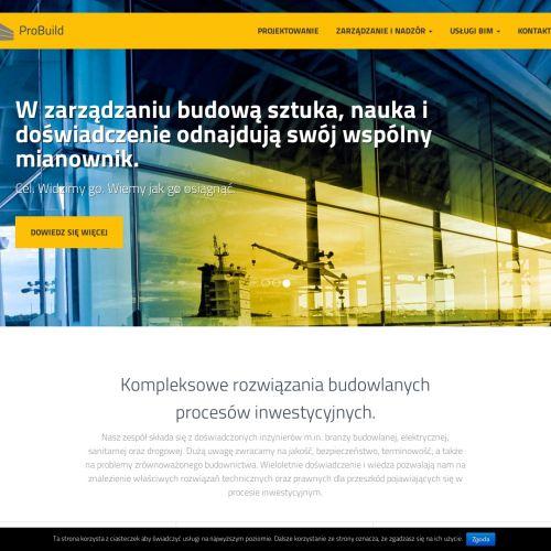 Pełnobranżowy nadzór projektów budowlanych