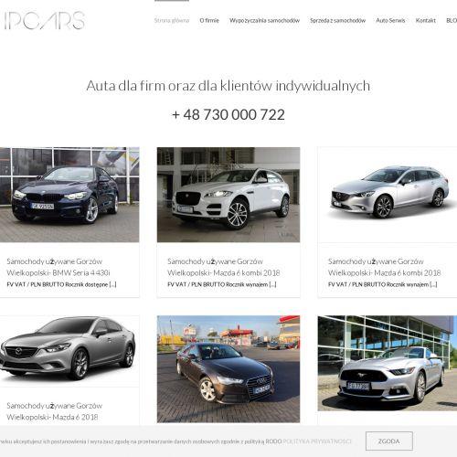 Sprzedaż opon i naprawę używanych aut