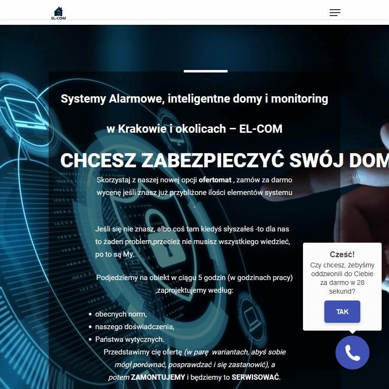 Zakładanie systemów alarmowych w Krakowie