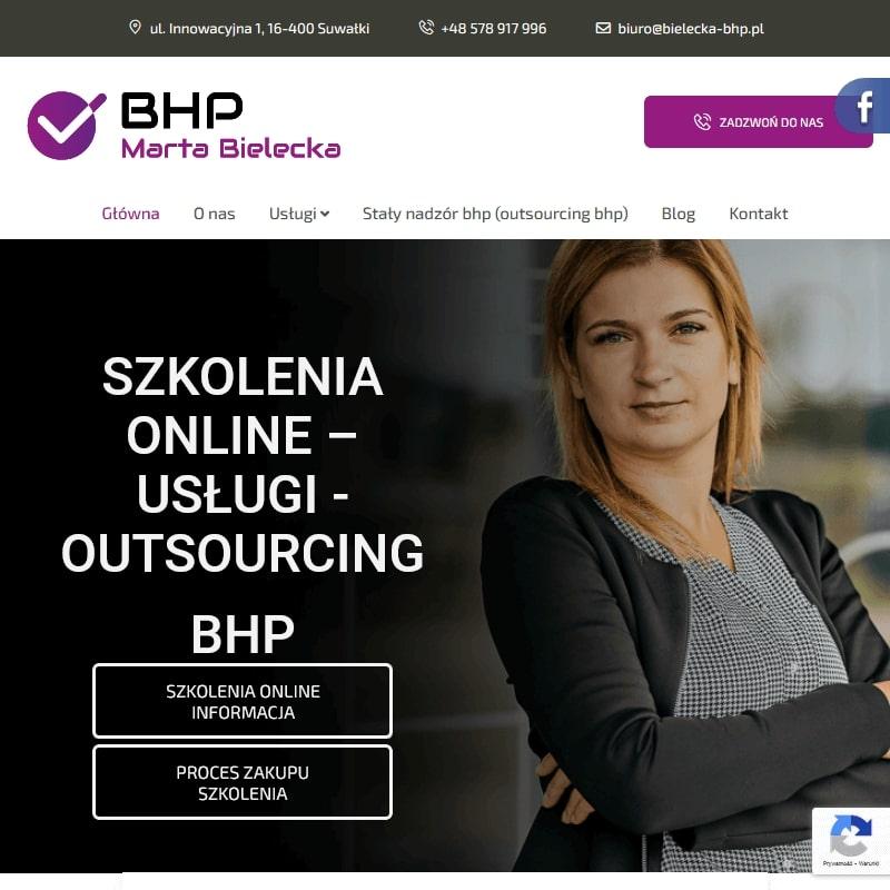 Usługi BHP w Suwałkach i Warszawie