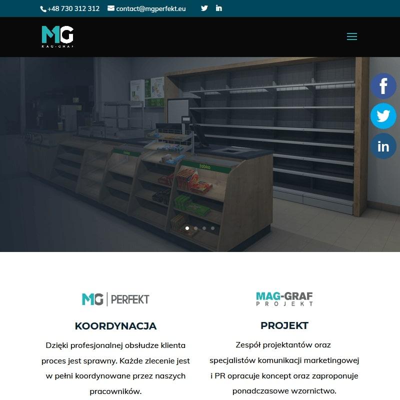 Wizualizacja 3D sklepów