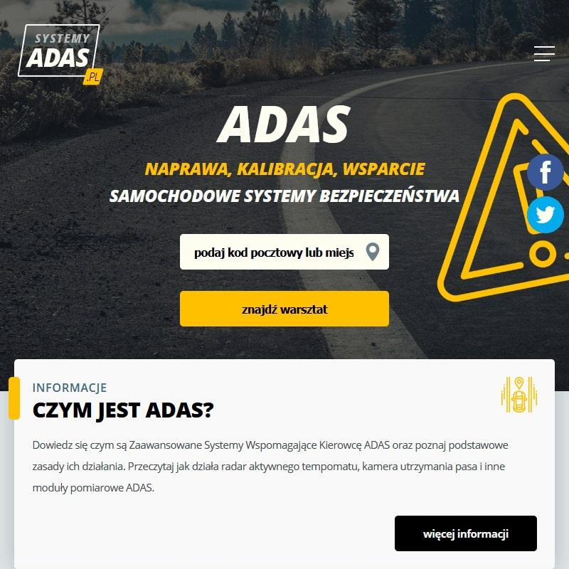 Kalibracja ADAS i asystent martwego pola