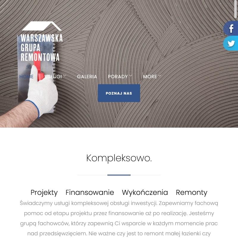 Kompleksowe usługi remontowe