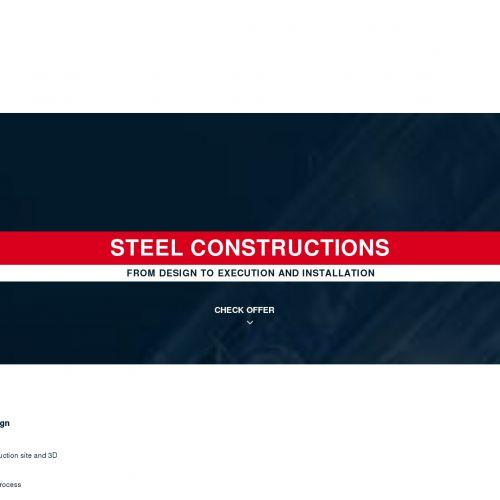 Projektowanie i montaż konstrukcji stalowych