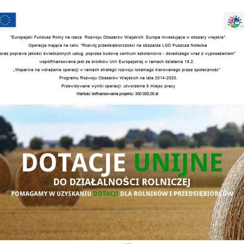 Dofinansowanie unijne dla rolników