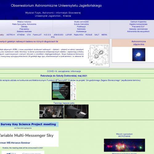 Studia doktoranckie na kierunku astronomia