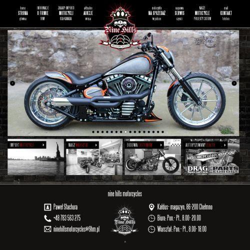 Przerabianie motocykli Custom
