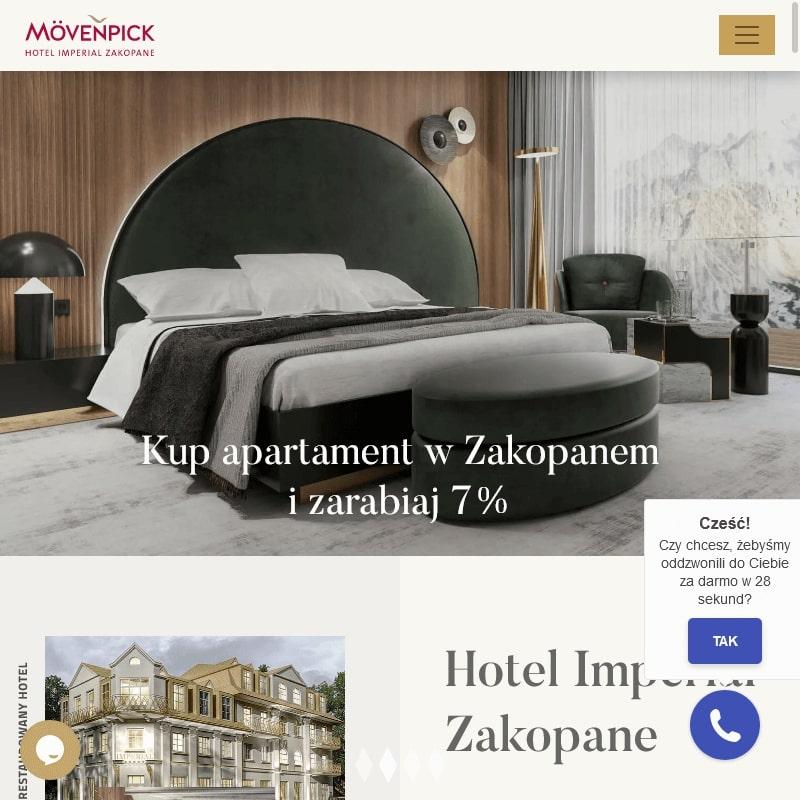 Luksusowe apartamenty typu condo