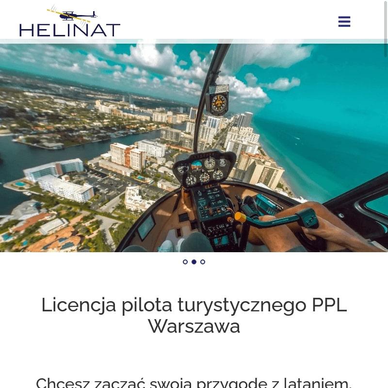 Kurs pilota samolotu turystycznego