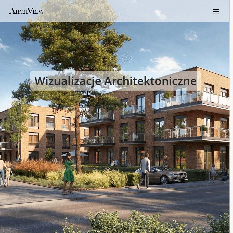 Fotorealistyczna wizualizacja architektoniczna mieszkania