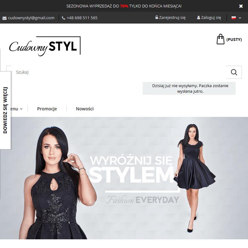 Sklep internetowy z sukienkami letnimi