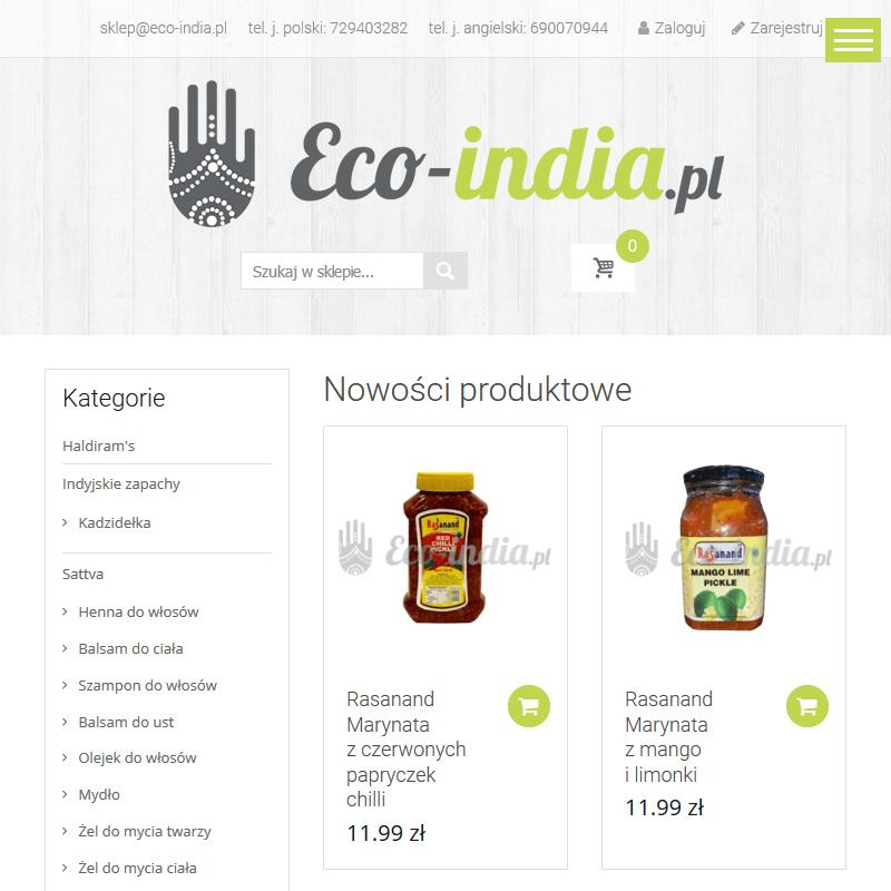 Gotowe dania indyjskie