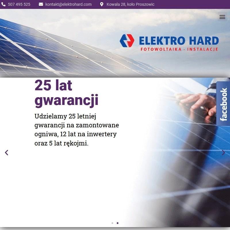 Instalacje elektryczne i fotowoltaiczne