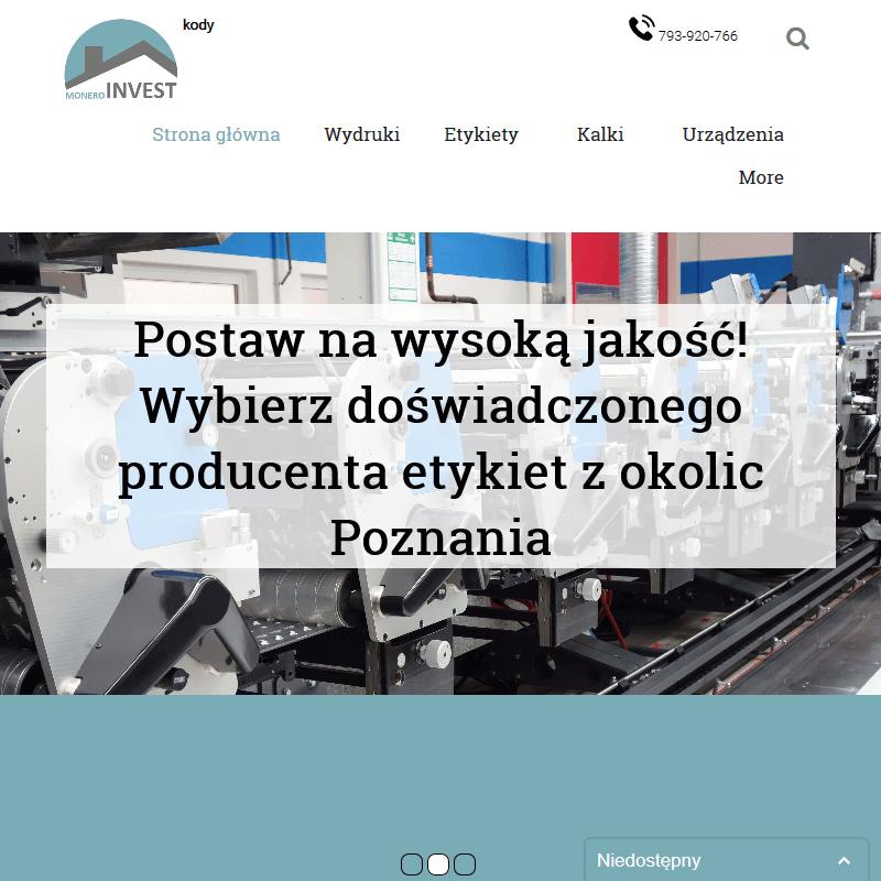 Znakowanie towarów - Inowrocław