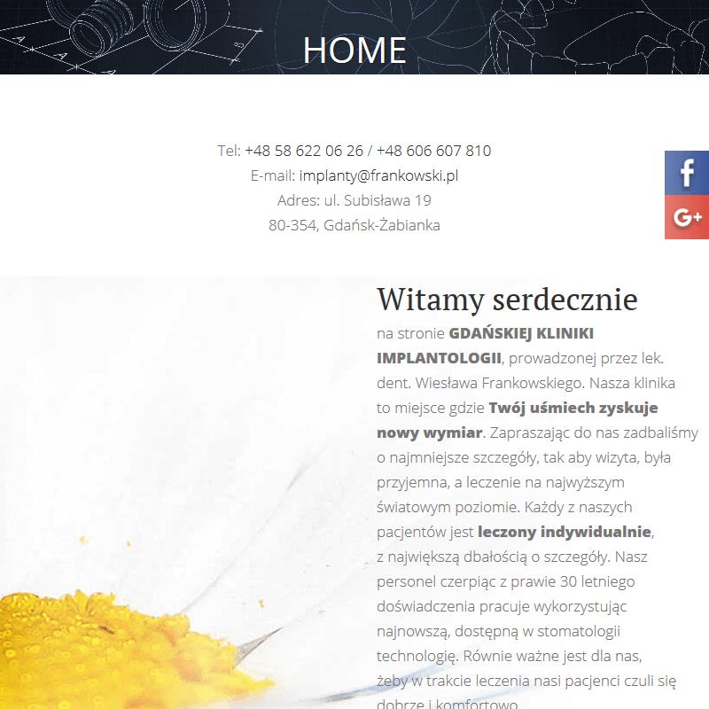 Gabinet stomatologii estetycznej - Gdynia