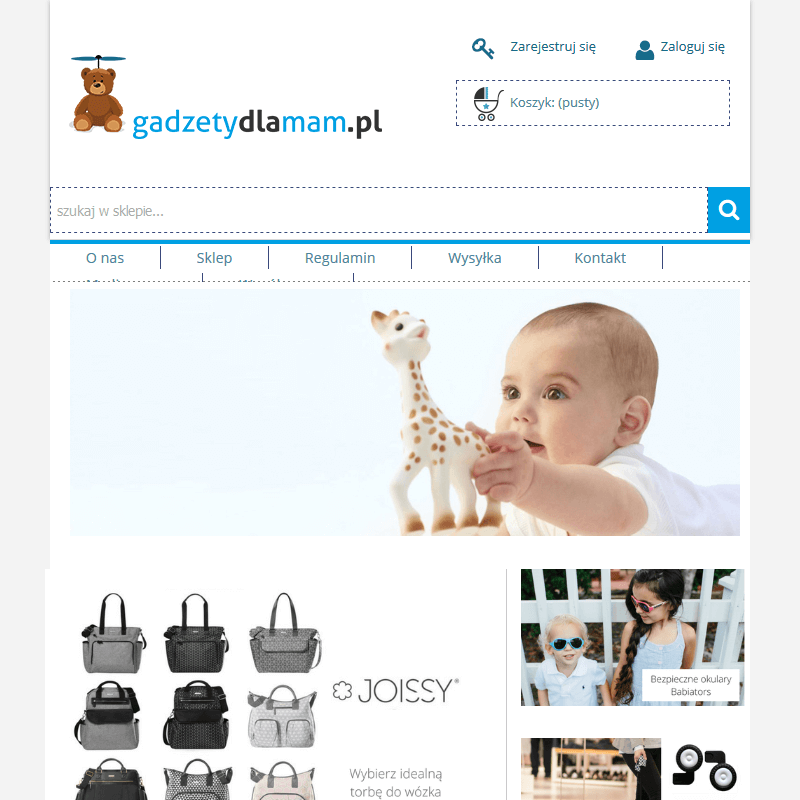 Gadżety dla niemowlat