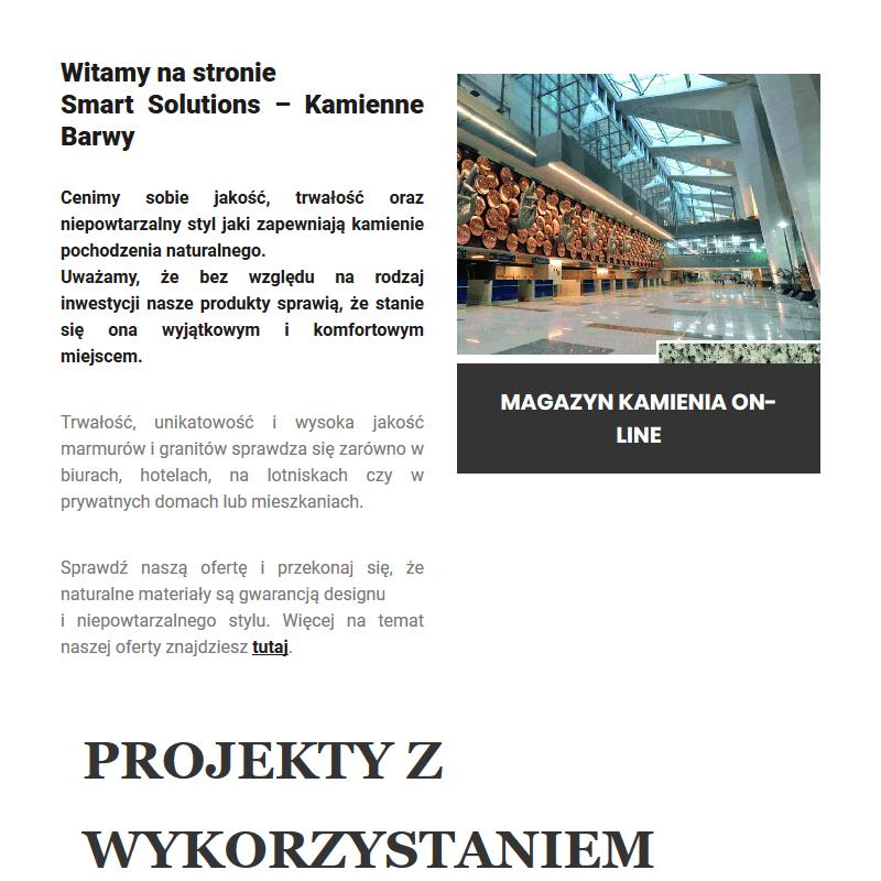 Hurtownia kamienia naturalnego - Warszawa