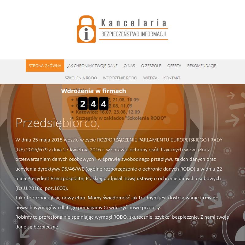 Audyt ochrony danych osobowych - Opole