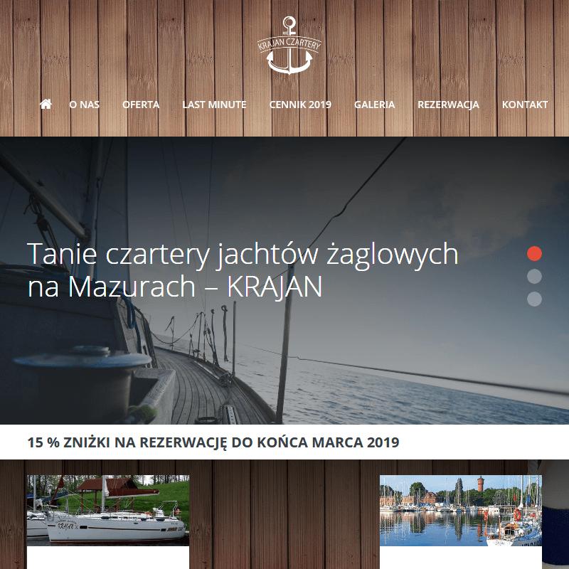 Tanie czartery i wypożyczanie jachtów
