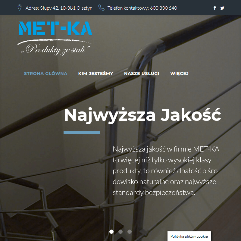 Szkielety stalowe - Olsztyn