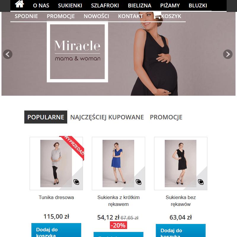 Wizytowe sukienki ciążowe