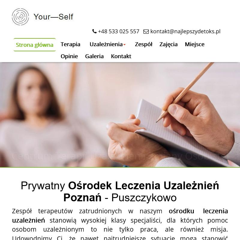 Detoks alkoholowy - Poznań