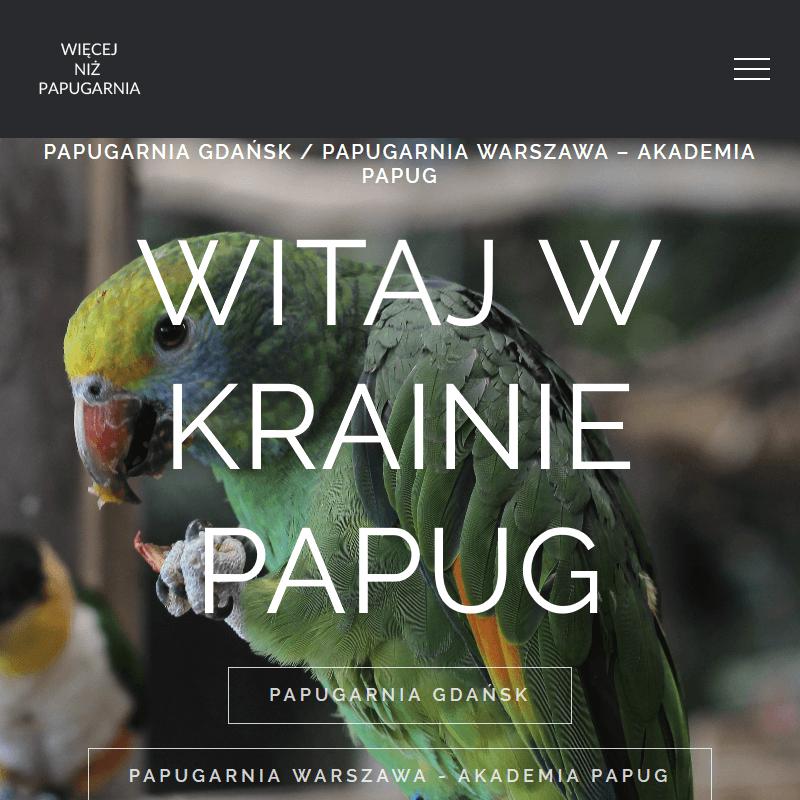 Papugi egzotyczne w Gdańsku